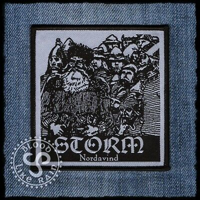 Storm Nordavind woven patch aufnäher Folk Metal limited