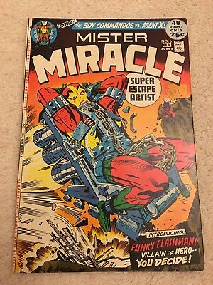 MISTER MIRACLE #6 - 1st APPEARANCE OF FEMALE FURIES HIGH GRADE BRONZE AGE 1972