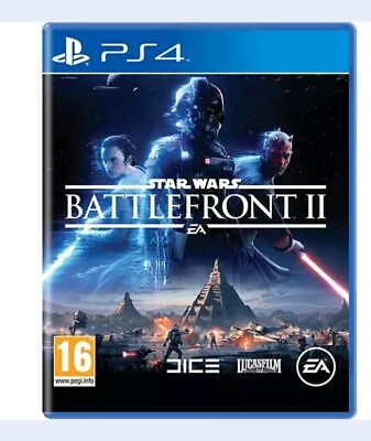 Star Wars Battlefront II 2 PS4 Game Brand New and sealed pack