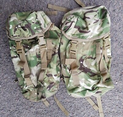 New MTP British Army Side Pouches Karrimor SF  (Rocket Pouch Daysack Bergen )
