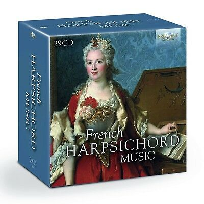 French Harpsichord Music 29 Cd New! D'anglebert/chambonnieres/le Roux/+