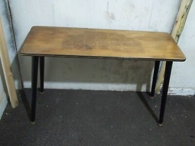 Vintage Retro Mid Century Coffee Side Table Occasional 1950s 1960s 1970s