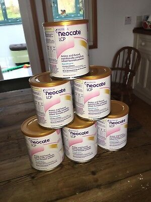 Neocate LCP Nutricia infant formula powder 6 tins 400g each tin New Sealed tins