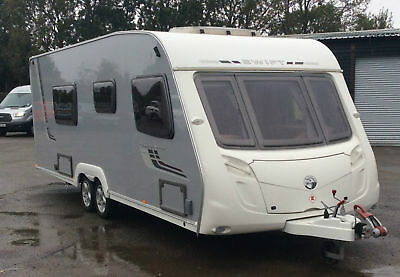 Swift Conqueror 2009 Silver Sides 630 4 Berth