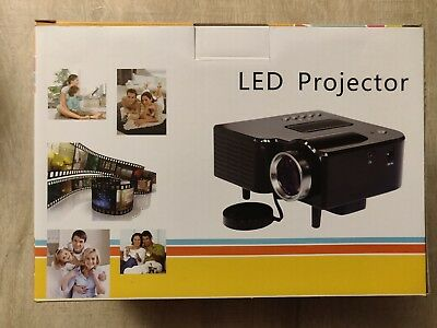 UC28B Mini Portable LED Projector 1080P Multimedia Family Cinema Home Theater
