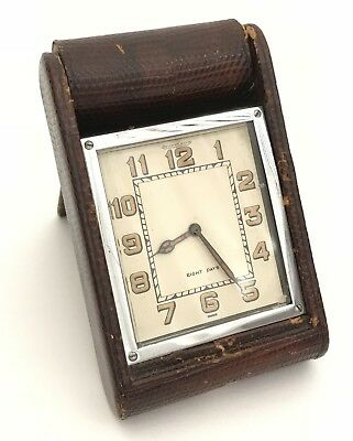 Vintage Jaeger LeCoultre 8 Day Travelling Clock