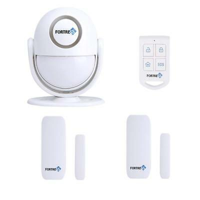 Fortress Security Guardian All-in-One Home Security Motion Activated Alarm Host
