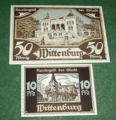 Konvolut Notgeld Wittenburg April 1922 TOP Zustand !