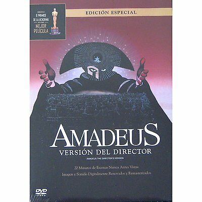 Amadeus Version Del Director DVD NEW Edicion Especial Factory Sealed!