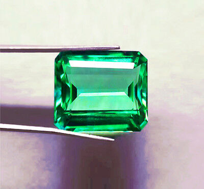 High End! Top Stone! 2.79 ct Natural Earth Mined Emerald Certified No Reserve