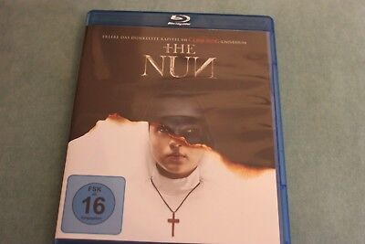 THE NUN,UNCUT-TOP-HORROR-ACTION,Neuw.Blu Ray, FSK 16,Ungeschnittene Blu Ray, 1a