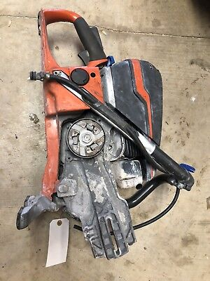 "Husqvarna K970 Concrete 14"" Cut-Off Saw.  Powerhead Only. No Blade or Guard."