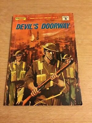 "Sabre War Picture Library No 2. Magazine.  "" Devils Doorway """