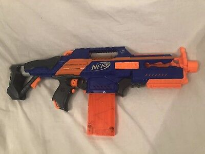 Nerf N-Strike Elite Rapidstrike Fully Automatic Machine Gun Blaster