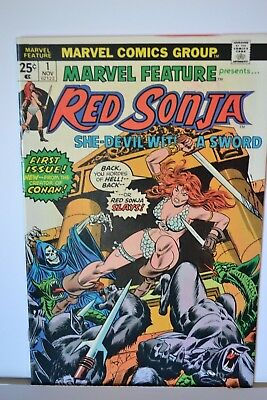 Marvel Feature Red Sonja  # 1