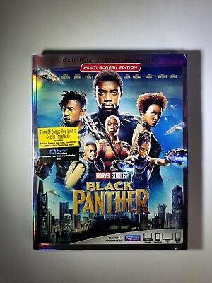 Black Panther (Blu-ray, Digital) Brand New