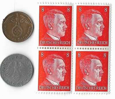 Rare Old Europe Germany WWII WW2 Coin Stamp Great War Military Relic Collection