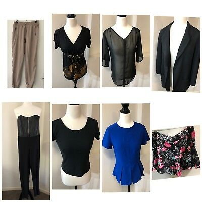 Bulk womens clothes  Collection Size 10-12.