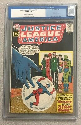 Justice League Of America #14 Cgc 5.0 Dc Comics Silver Age Vg/fn