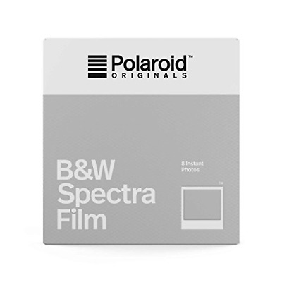 Polaroid Originals Instant Film B&W for Image/Spectra, White 4679
