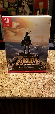 Legend of Zelda: Breath of the Wild Special Edition (Switch) NEW SEALED RARE