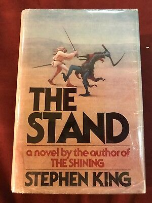 THE STAND by STEPHEN KING HCDJ - FIRST EDITION / FIRST PRINTING T39 GUTTER CODE