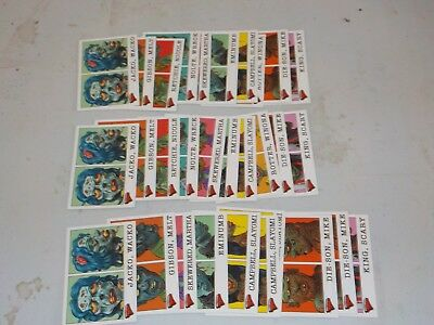 2007 Topps Hollywood Zombies Glow in the Dark Lot of 30 Cards w/ 2 Sets A46