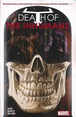 DEATH OF THE INHUMANS TPB Marvel Comics Collecting #1-5 TP