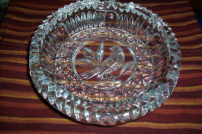 Hofbauer Crystal Ash Tray - Byrds Collection