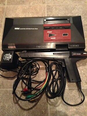 Sega Master System Black Console (NTSC) *READ DESCRIPTION* Good Condition