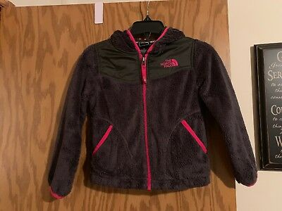 The North Face Girls Fuzzy Jacket Size Xxs 5