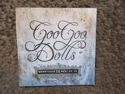 """Goo Goo Dolls """"something For The Rest Of Us"""" 2010 Nm/ex Out Of Print Cd"""