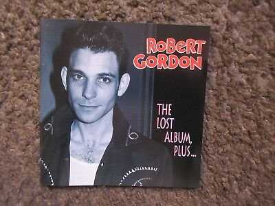 "Robert Gordon ""the Lost Album,plus.."" 1998 Bear Family Germany Nm Oop 21Trx Cd"