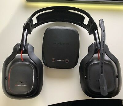 ASTRO A50  - Black / Red Gen 2 Wireless Gaming Headset w/ Mic