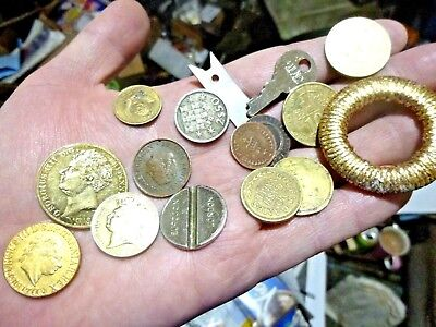 House Clearance Old Draw Finds Job Lot  Old Coins  Collectables  Etc