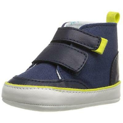 Rosie Pope Kids Footwear Love For Music Navy  Crib Shoes 0-3 MO BHFO 9335