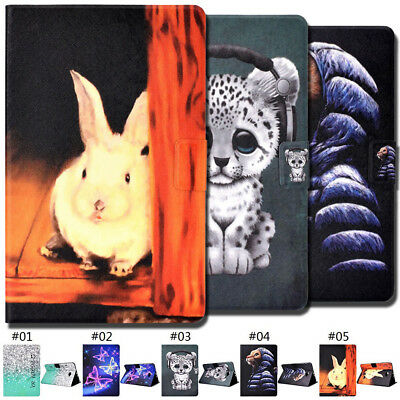 For Samsung Smart Wake/Sleep Wallet PU Leather Folio Flip Stand Card Case Cover