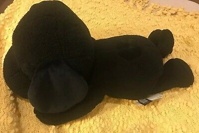 "22"" NEW Uniqlo Kaws x Peanuts Black Snoopy Plush Toy Limited edition"