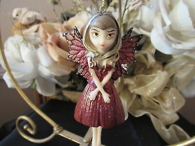 Strangeling HINTS OF GOLD FAIRY ORNAMENT JASMINE BECKET-GRIFFITH NEW IN BOX