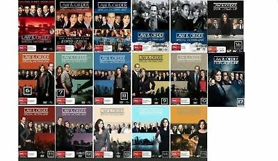 Law And Order SVU Complete Series Seasons 1-17 Collection