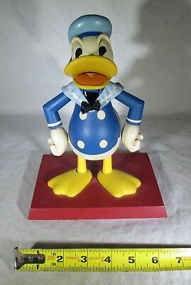 DISNEY DONALD DUCK 10 INCH TALL FIGURINE NUTCRACKER WITH BASE BY MIDWEST Co.1996