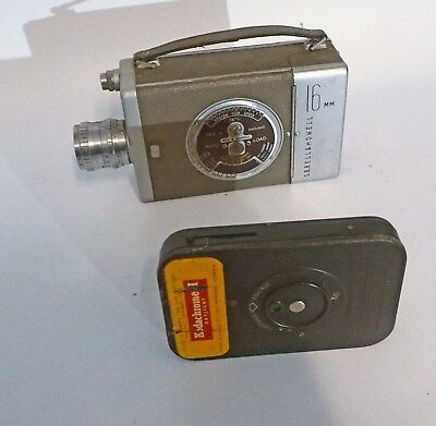 BELL AND HOWELL 16mm CARTRIGE MOVIE CAMERA