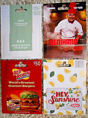 Collectible Gift Cards, new, unused, with card backing, no value on cards (YZ)