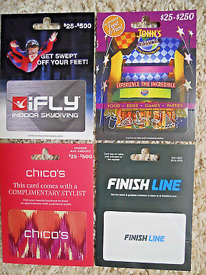 Gift Cards, Collectible, unused, new,  with backing, no value on the cards  (ZA)