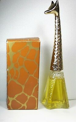 Vintage Avon Graceful Giraffe Moonwind Cologne 1.5 oz Full