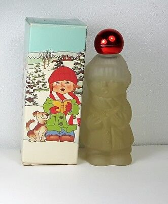 Vintage Avon Song of Christmas Charisma Cologne 1 oz Full