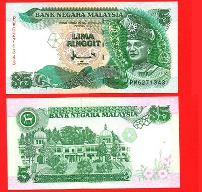 Malaysia 5 ringgit banknote