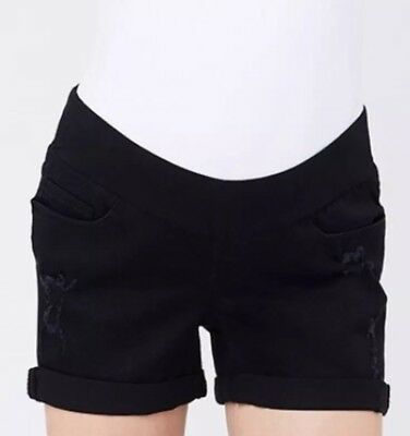 Ripe Womans Maternity Shorts. Size XS  NEW WITH TAGS Black