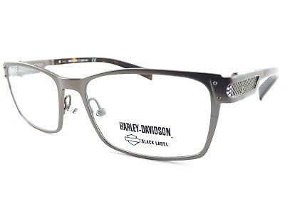 5e860583258e HARLEY DAVIDSON +0.25 to +3.50 Reading Glasses Matte Nickel  Brown HD1031  007