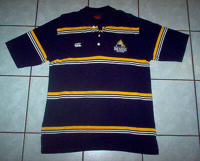ACT Brumbies Rugby Union POLO SHIRT - Chest 42/107; CCC  Brand
